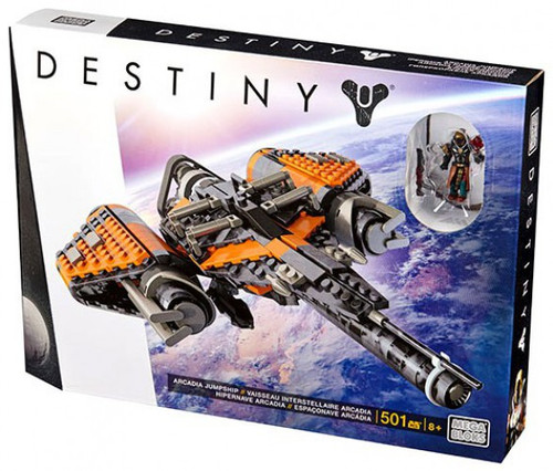 Mega Bloks Destiny Arcadia Jumpship Set #31771