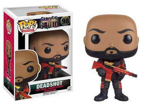 Funko Suicide Squad POP! Movies Deadshot Vinyl Figure #98 [NO MASK]
