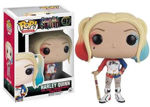 Funko Suicide Squad POP! Movies Harley Quinn Vinyl Figure #97