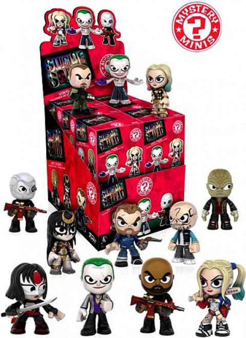 Funko DC Mystery Minis Suicide Squad Mystery Box [12 Packs]
