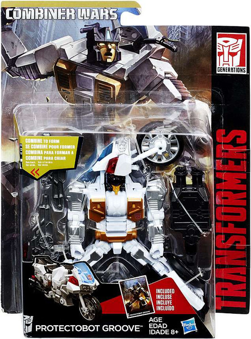 Transformers Generations Combiner Wars Protectobot Groove Deluxe Action Figure [May Mayhem]