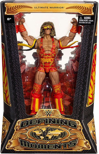 WWE Wrestling Defining Moments Ultimate Warrior Action Figure [Orange & Yellow]