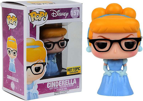 Funko Disney Princess POP! Disney Cinderella Exclusive Vinyl Figure #157 [Nerd with Glasses]