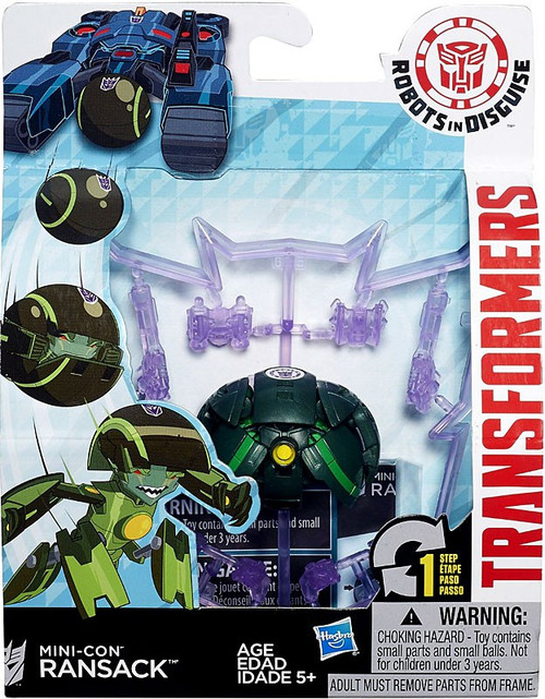 Transformers Robots in Disguise Mini-Con Ransack Action Figure