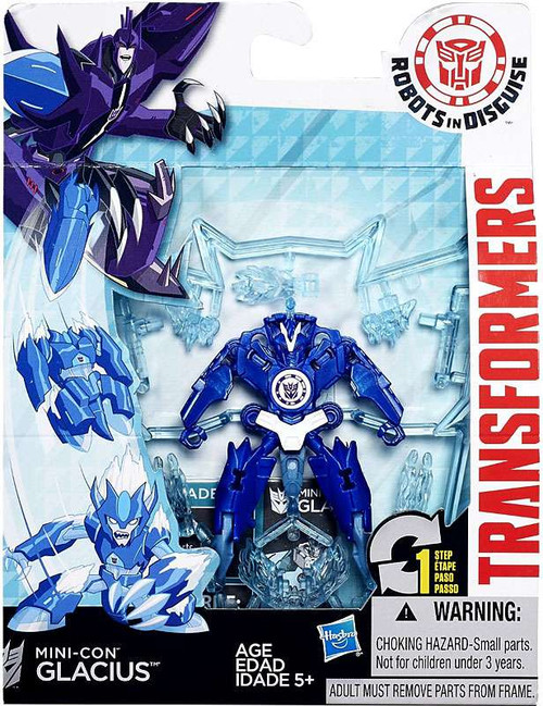Transformers Robots in Disguise Mini-Con Glacius Action Figure
