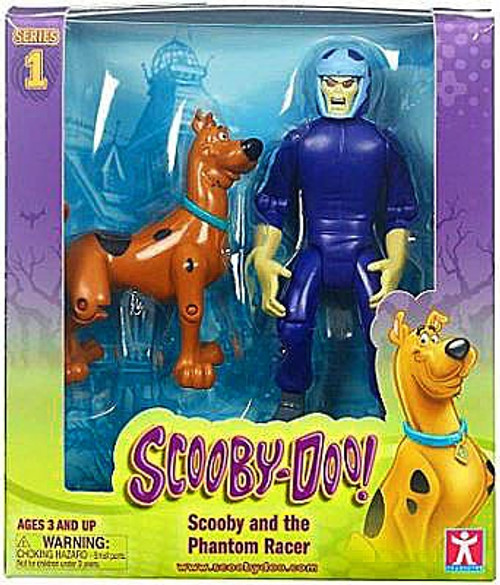 Scooby Doo Series 1 Scooby & Phantom Racer Action Figure 2-Pack [Series 1]