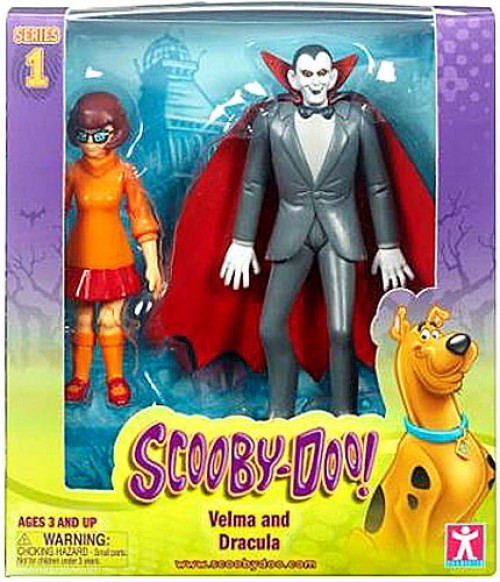 Scooby Doo Velma & Dracula Action Figure 2-Pack