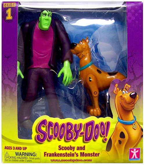 Scooby Doo Scooby & Frankenstein's Monster Action Figure 2-Pack
