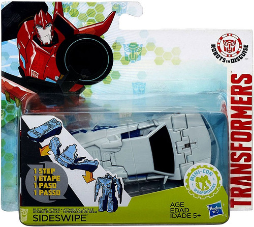 Transformers Robots in Disguise 1 Step Changers Sideswipe Action Figure [2016 Version]