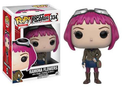 Funko Scott Pilgrim vs The World POP! Movies Ramona Flowers Vinyl Figure #334