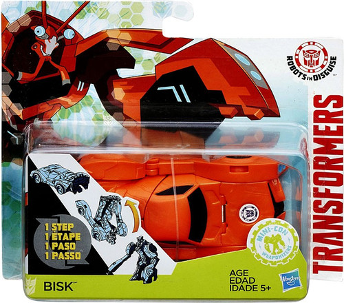 Transformers Robots in Disguise 1 Step Changers Bisk Action Figure