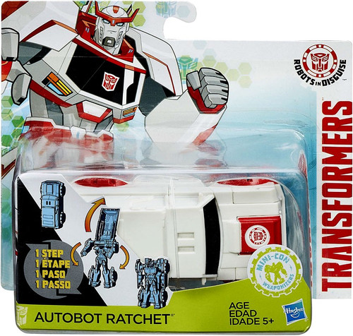 Transformers Robots in Disguise 1 Step Changers Ratchet Action Figure