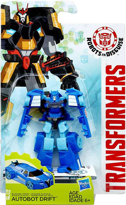 Transformers Robots in Disguise Blizzard Strike Drift Legion Action Figure