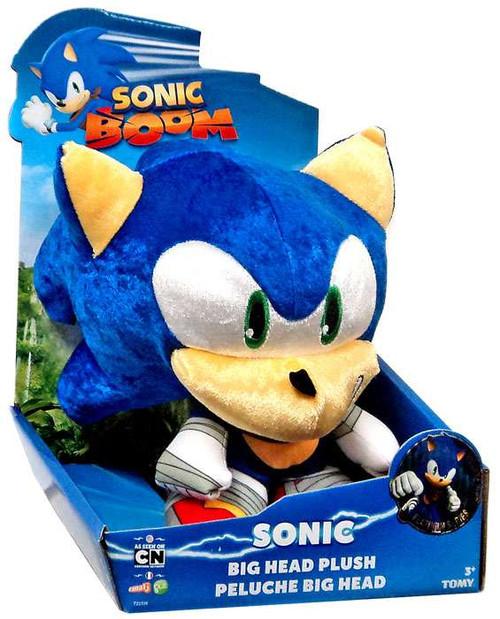 Sonic The Hedgehog Sonic Boom Sonic 8-Inch Big Head Plush [Metallic]