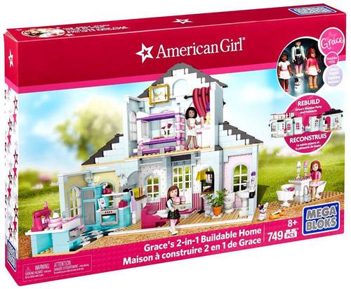 Mega Bloks American Girl Grace's 2-In-1 Buildable Home Set #31928