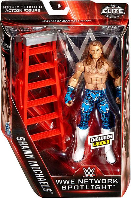 WWE Wrestling Elite Network Spotlight Shawn Michaels Exclusive Action Figure [Ladder]