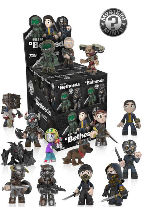 Funko Mystery Minis Best of Bethesda Mystery Box [12 Packs]