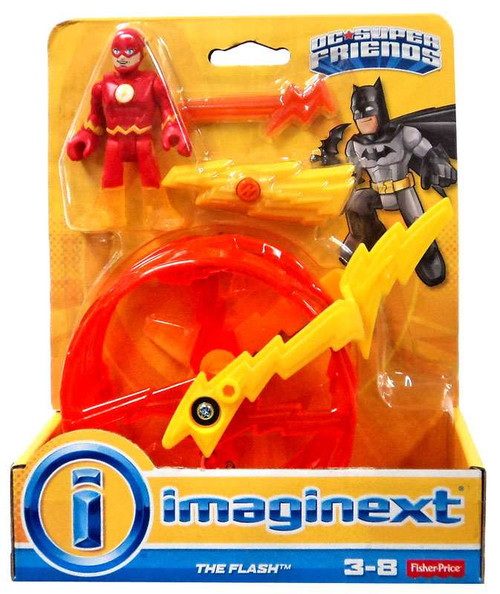 Fisher Price DC Super Friends Imaginext The Flash 3-Inch Figure Set