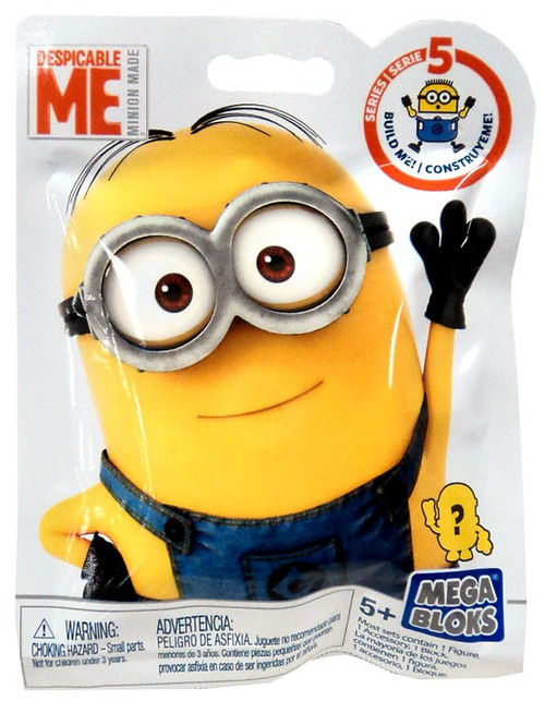 Mega Bloks Despicable Me Minion Made Series 5 Mystery Pack [1 RANDOM Figure!]