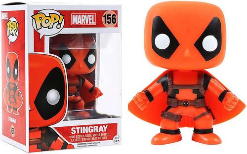 Funko POP! Marvel Stingray Exclusive Vinyl Bobble Head #156