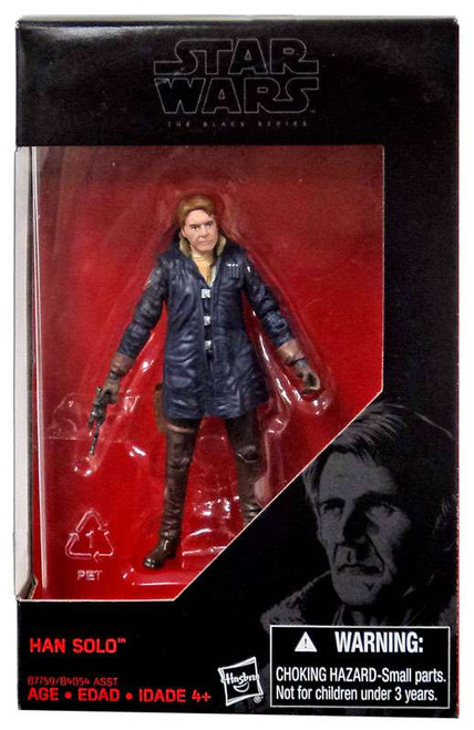 Star Wars The Force Awakens Black Series Han Solo Action Figure [Starkiller Base]