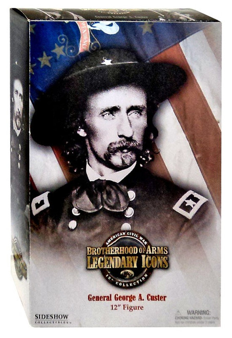 Brotherhood of Arms Legendary Icons American Civil War General George A. Custer Deluxe Action Figure