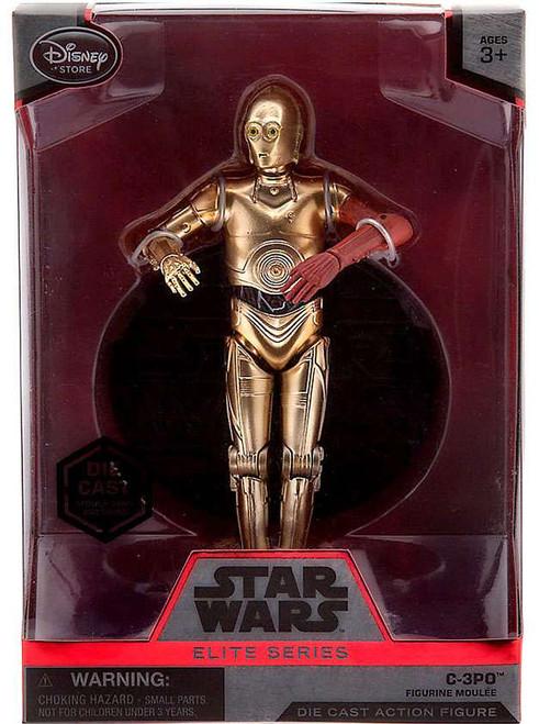 Disney Star Wars The Force Awakens Elite C-3PO Exclusive 6.5-Inch Diecast Figure