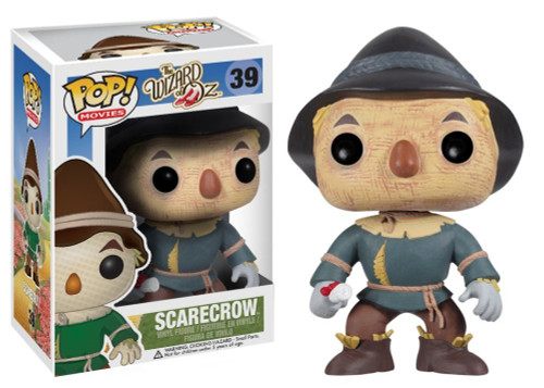 Funko The Wizard of Oz POP! Movies Scarecrow Vinyl Figure #39 [Damaged Package]