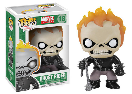 Funko Marvel Universe POP! Marvel Ghost Rider Vinyl Bobble Head #18 [Damaged Package]