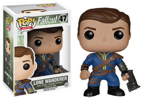 Funko Fallout POP! Games Lone Wanderer (Male) Vinyl Figure #47 [Damaged Package]