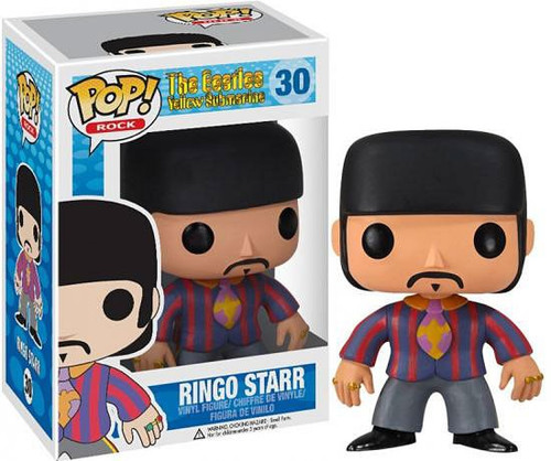 Funko The Beatles Yellow Submarine POP! Rocks Ringo Starr Vinyl Figure #30 [Damaged Package]