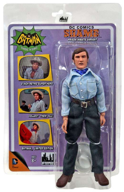 Batman 1966 TV Series Villain Variant Series Shame Retro Action Figure [Prison Inmate Variant]