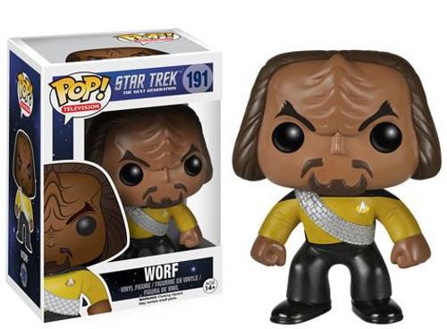 Funko Star Trek: The Next Generation POP! TV Worf Vinyl Figure #191 [Damaged Package]