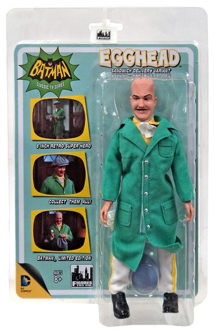Batman 1966 TV Series Villain Variant Series Egghead Retro Action Figure [Sandwich Delivery Variant]