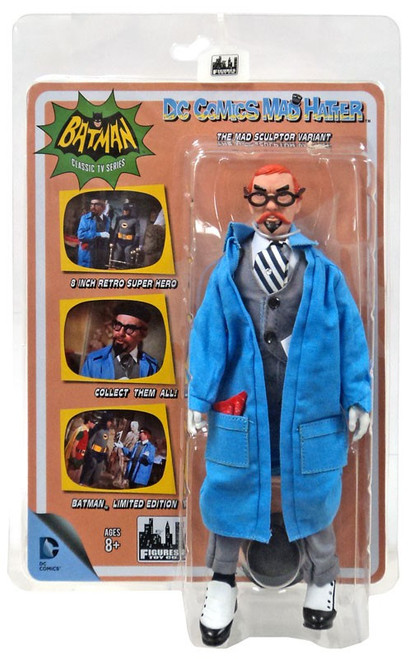Batman 1966 TV Series Villain Variant Series Mad Hatter Retro Action Figure [The Mad Sculptor Variant]