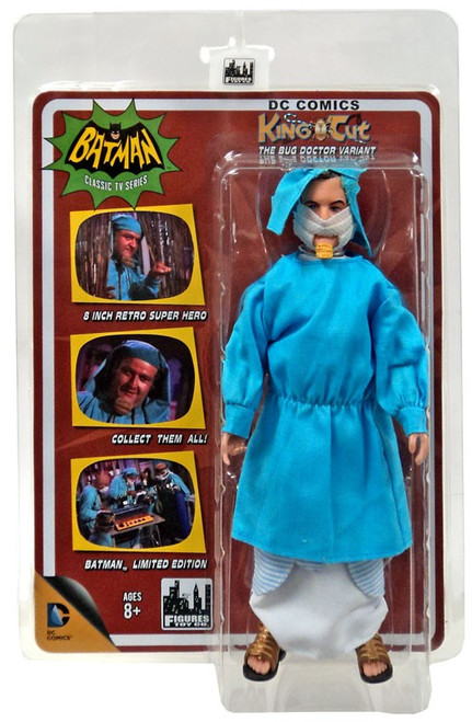 Batman 1966 TV Series Villain Variant Series King Tut Retro Action Figure [The Bug Doctor Variant]