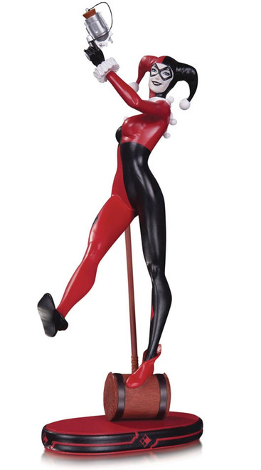 DC Cover Girls Classic Harley Quinn 8.5-Inch Statue [Version 3 2nd Edition]