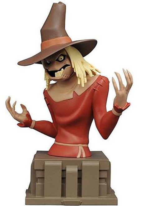 Batman The Animated Series Scarecrow 6-Inch Bust