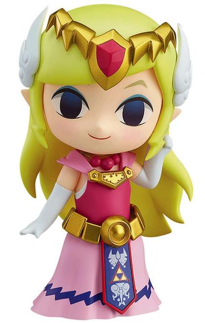 Legend of Zelda The Wind Walker Nendoroid Zelda 4-Inch Figure [HD Ver;]