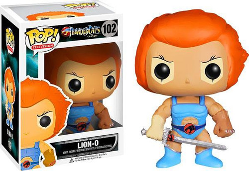 Funko Thundercats Classic POP! TV Lion-O Vinyl Figure #102 [Damaged Package]