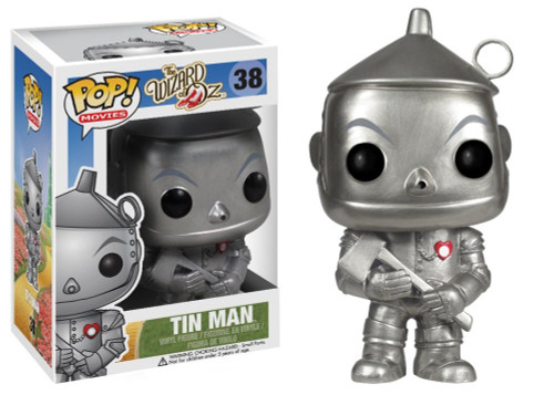 Funko The Wizard of Oz POP! Movies Tin Man Vinyl Figure #38 [Damaged Package]