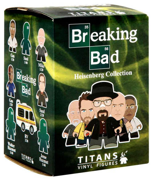 Breaking Bad Titans Vinyl Figures Heisenberg Collection Mystery Pack