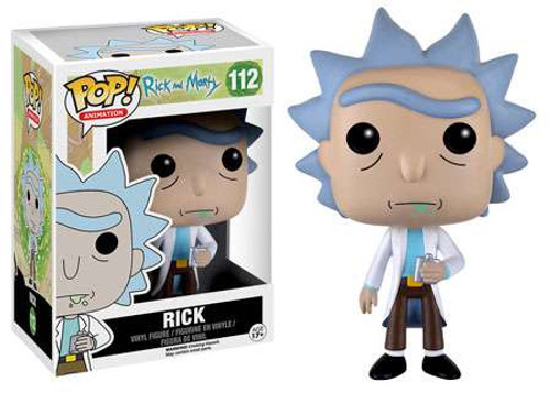 Funko Rick & Morty POP! Animation Rick Vinyl Figure #112