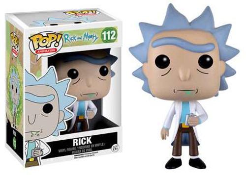 Funko Rick & Morty POP! Animation Rick Vinyl Figure #112