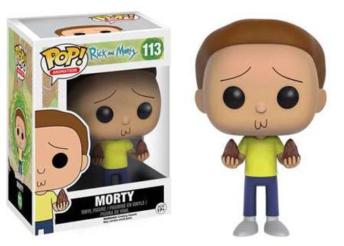 Funko Rick & Morty POP! Animation Morty Vinyl Figure #113