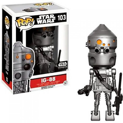 Funko POP! Star Wars IG-88 Exclusive Vinyl Bobble Head #103 [Smuggler's Bounty]