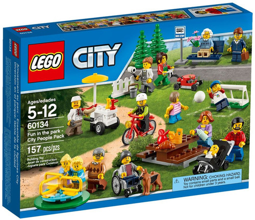 LEGO Fun in the Park - City People Pack Set #60134