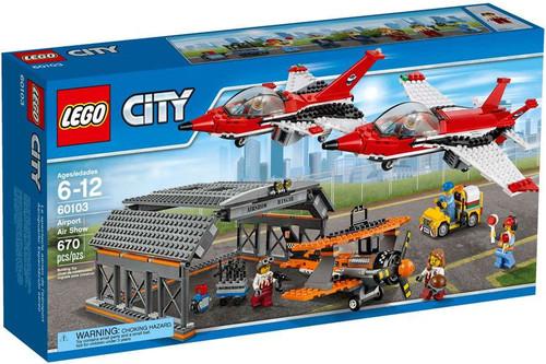 LEGO City Airport Air Show Set #60103