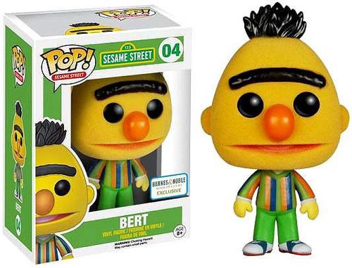 Funko Sesame Street POP! TV Bert Exclusive Vinyl Figure #04 [Flocked]