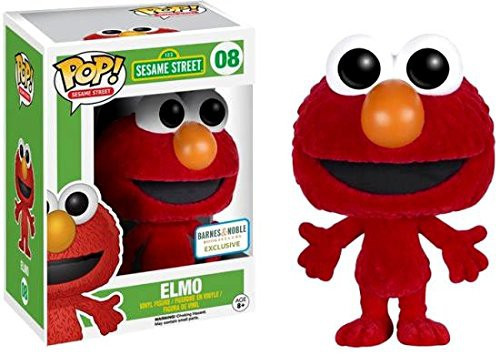 Funko Sesame Street POP! TV Elmo Vinyl Figure #08 [Flocked]